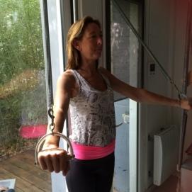 Atelier R Pilates - pilates arm circles on pedi-pull