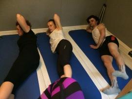 Pilates Saint Maur - Cours de mat side kick