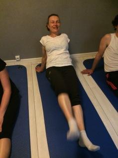 Pilates Saint Maur - Pilates leg pull Facing up